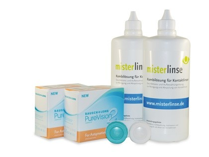 PureVision 2 HD Astigmatism Mister Linse Sparset