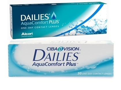 DAILIES AquaComfort Plus Tageslinsen