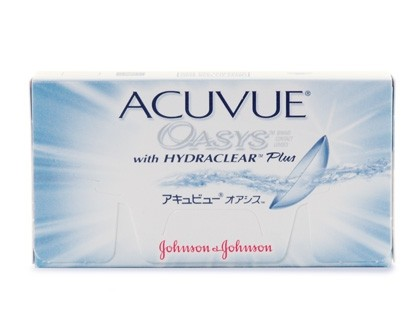 ACUVUE OASYS with Hydraclear Zwei-Wochenlinsen